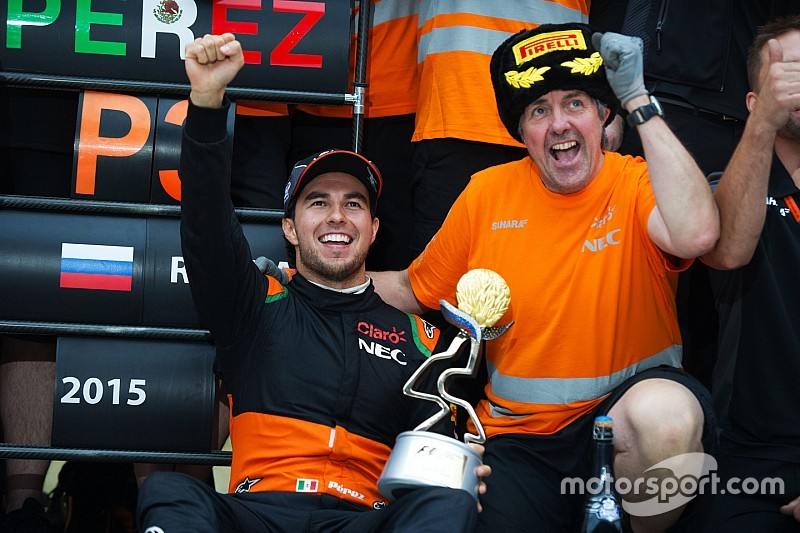 Perez a changed man, says Force India
