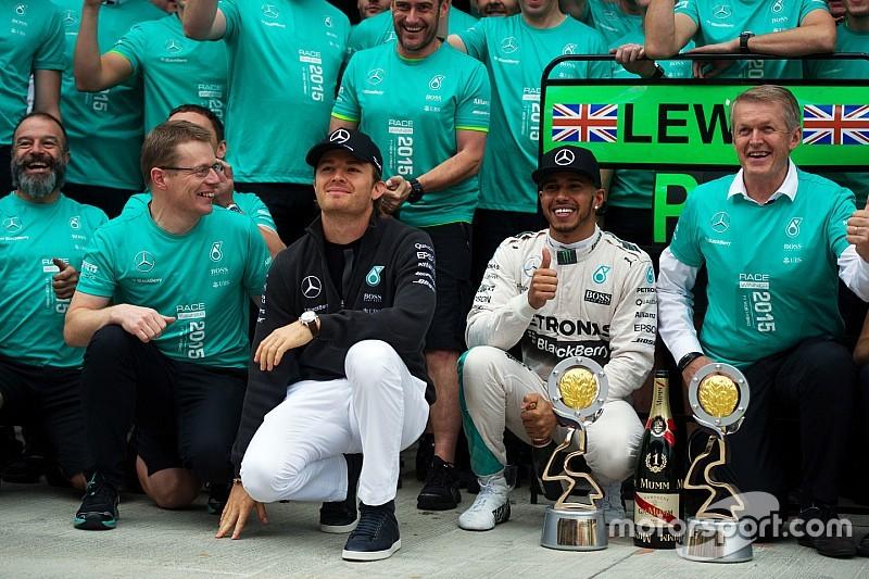 Nico Rosberg teleurgesteld: 'Moet realistisch zijn'