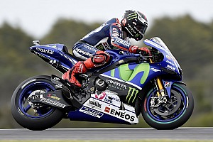 MotoGP Practice report Phillip Island MotoGP: Lorenzo heads Marquez and Rossi in FP1