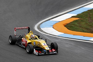 F3 Europe Qualifying report Hockenheim F3: Giovinazzi, Dennis share poles in final qualifying of 2015