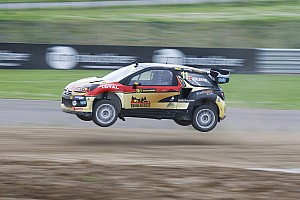 World Rallycross Race report Solberg and Kristoffersson jointly lead Italy RX after day one