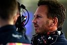 Horner se mostró evasivo sobre los rumores de Honda