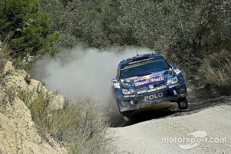WRC Spanje, dag 1: Ogier pakt nipte voorsprong