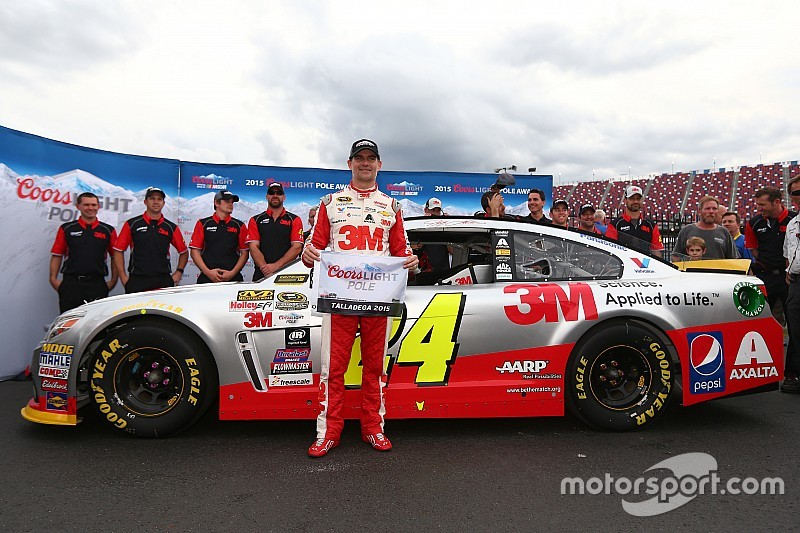 NASCAR Talladega: Jeff Gordon auf der Pole-Position
