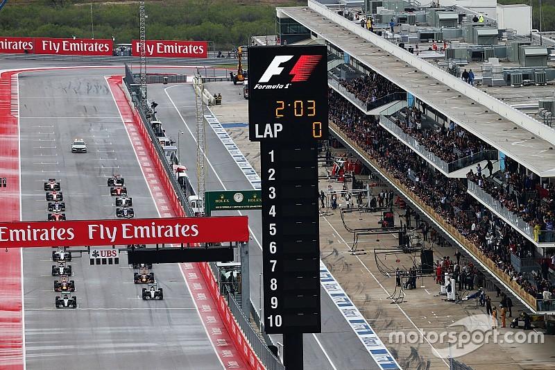 'Lege startgrid is slecht voor de Formule 1'