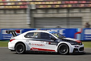 WTCC Practice report Thailand WTCC: Lopez tops red-flagged FP1
