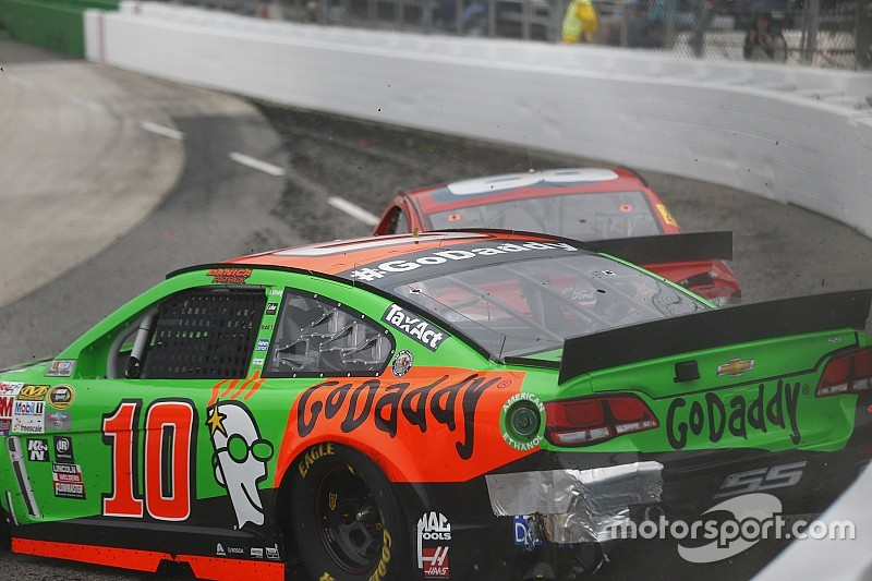 Danica Patrick defends her actions at Martinsville