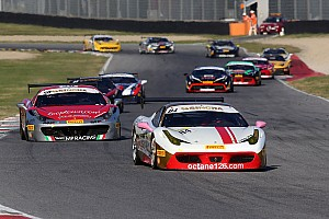 Ferrari Qualifying report Trofeo Pirelli champion Grossmann romps to Race 2 pole