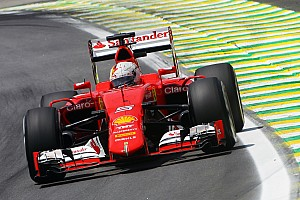 Formula 1 Qualifying report A red second row on the Brazilian GP