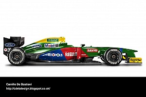 Formula 1 Top List Photo gallery: retro liveries on modern F1 cars