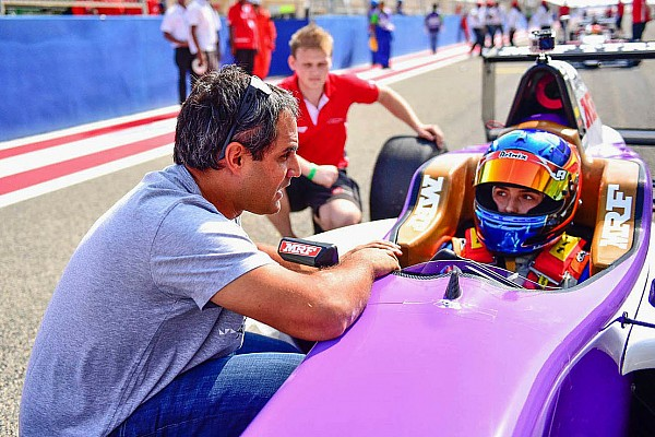 """Indian Open Wheel Tatiana Calderon: """"It was exciting to have Montoya helping me!"""""""