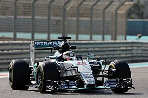 Formula 1 Practice report Abu Dhabi GP: Hamilton outpaces Rosberg in FP1