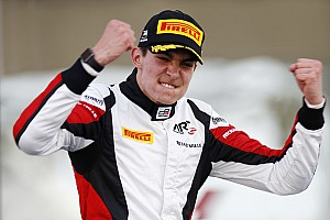 GP3 Race report Abu Dhabi GP3: Ocon crowned champion as Palou takes maiden win