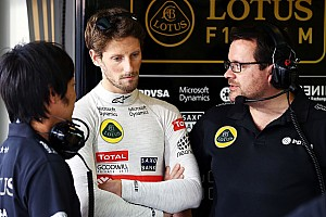 Formula 1 Breaking news Grosjean gets gearbox change penalty