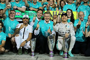 Formula 1 Race report Rosberg and Hamilton wrap up the 2015 season in style at the Abu Dhabi GP