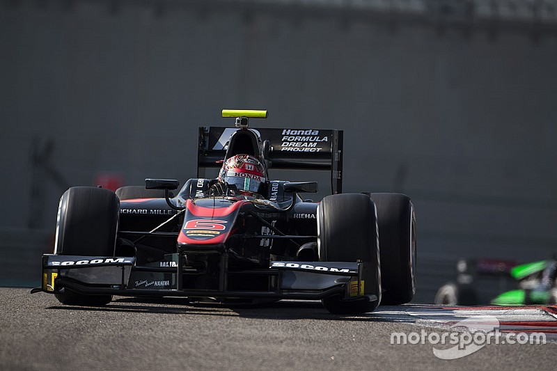 Matsushita ends GP2 post-season test on top