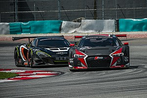 Endurance Race report One-two-three win for new Audi R8 LMS at Sepang