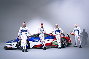 WEC Breaking news Ford reveals full-time WEC driver line-up