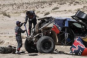 "Dakar News Sebastien Loeb nach dem Überschlag: ""Kann den Gesamtsieg vergessen"""