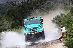 Dakar Rapport d'étape Camions - Festival néerlandais pour finir, De Rooy vainqueur