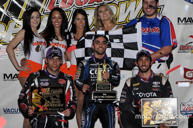 Rico Abreu goes back-to-back in Chili Bowl Nationals