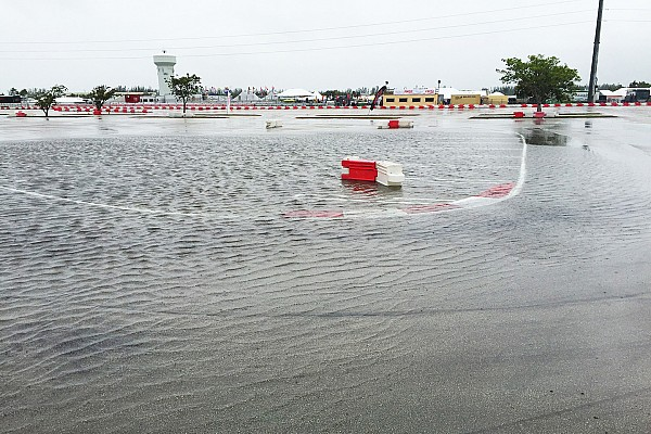 Kart Breaking news Rain halts Florida Winter Tour