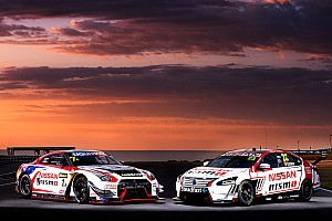 V8 Supercars Breaking news Nissan unveils Caruso livery