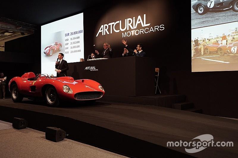 Veilingrecord: Ferrari 335 S Scaglietti verkocht voor 32,1 miljoen euro