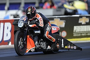 NHRA Commentary Hines seeking a sixth Pro Stock Motorcycle title in 2016