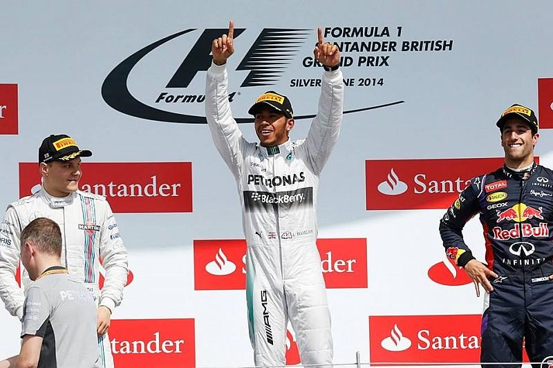 Гран При Великобритании: гонка