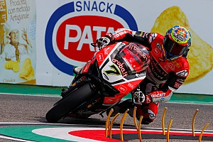 World Superbike Qualifying report Imola WSBK: Davies takes pole as Guintoli suffers huge crash