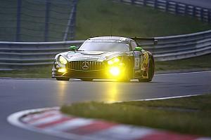 Endurance Reporte de la carrera 24 Horas de Nurburgring: Mercedes al mando, tras primer tercio