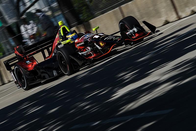 IndyCar. Бурде несподівано виграє першу гонку в Детройті
