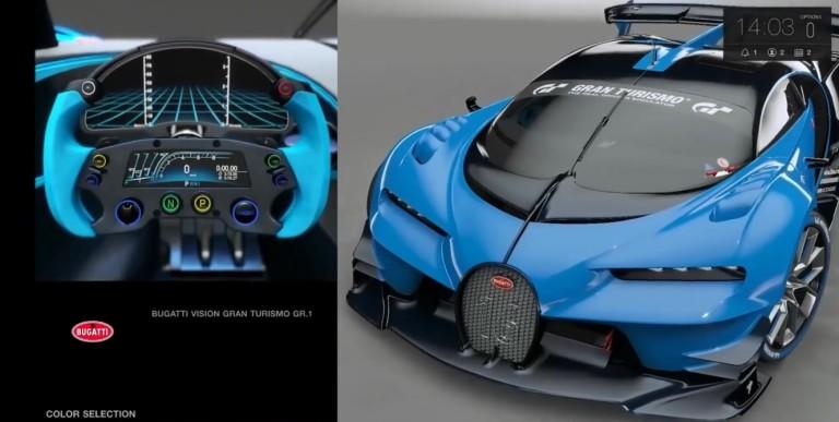 Gran Turismo Sport: Bugatti Vision GT a játékban – Tokió
