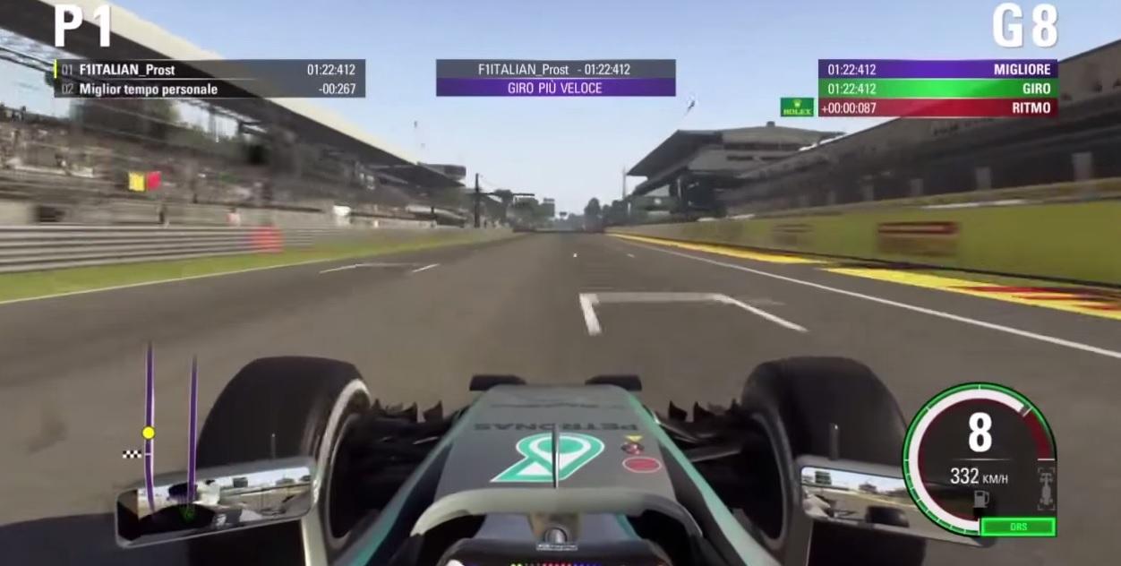 F1 2015: Egy gyors kör Hamiltonnal Monzában! A JÁTÉK!