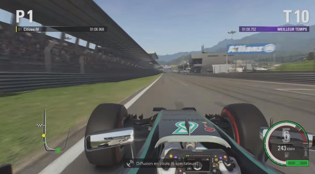 F1 2015: Így nyomja neki a virtuális Hamilton Ausztriában (Xbox One)