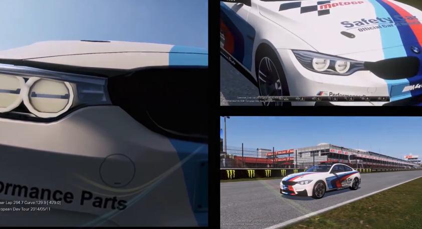 MotoGP 14: Vezess biztonsági autót a játékban – BMW M4 Coupe