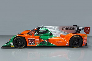 IMSA Últimas notícias Mazda celebra 25 anos de Le Mans com pintura em Watkins Glen