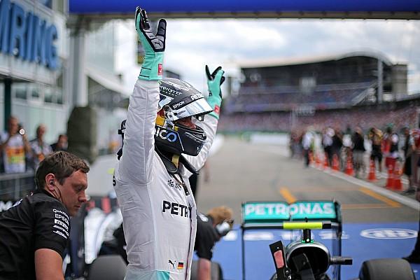 Formule 1 Actualités Rosberg a battu Hamilton avec plus de carburant embarqué