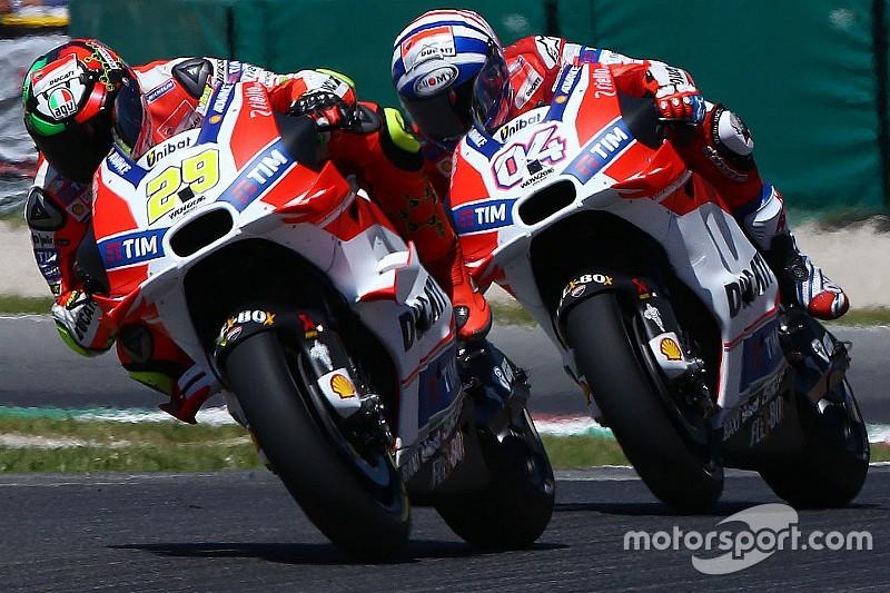 Ducati gesteht: MotoGP-Ergebnisse 2016 hinter den Erwartungen