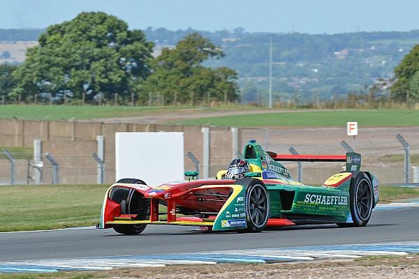 Formule E Résumé d'essais Abt en tête d'une dernière journée perturbée par la pluie