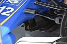技术短文:索伯赛车的导向叶片和尾翼