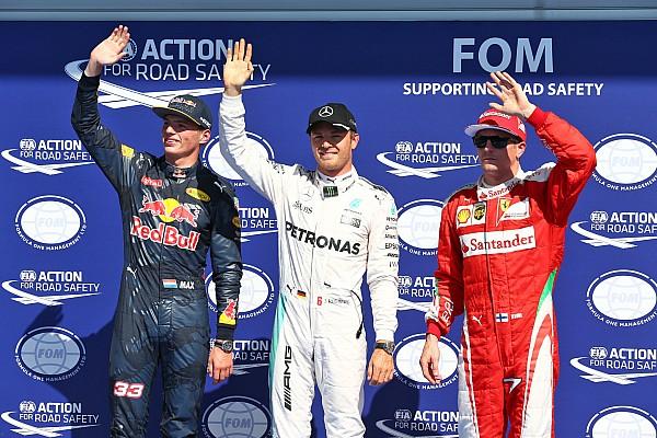 Formule 1 Résultats La grille de départ du GP de Belgique