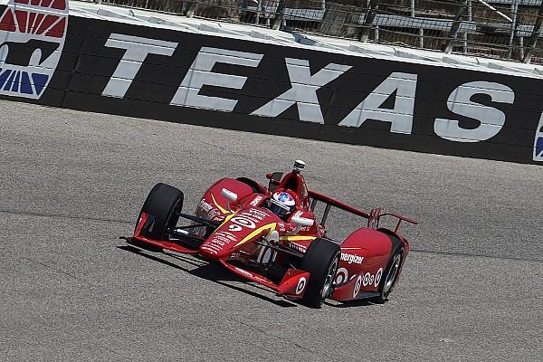 IndyCar Отчет о тренировке Пилоты команды Ganassi стали лучшими на финальной разминке в Техасе