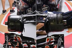 Teknik Güncelleme: Toro Rosso STR11 asimetrik frenler
