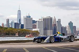 Формула E Новость Организаторы Формулы Е показали схему трассы в Нью-Йорке