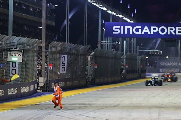 Formule 1 Commentaire La Formule 1 protège-t-elle assez le personnel de piste?