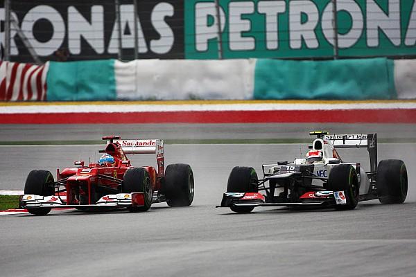 Formule 1 Diaporama Sepang 2012 - Quand Pérez disputait la victoire à Alonso