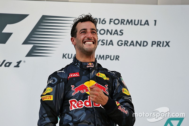 Formel 1 in Sepang: Daniel Ricciardo widmet seinen Sieg Jules Bianchi