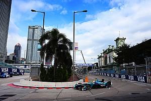 Formula E Reporte de calificación Nelson Piquet Jr. logró la pole en Hong Kong